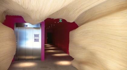 Bois ignifugé pour lambris et plafonds intérieurs