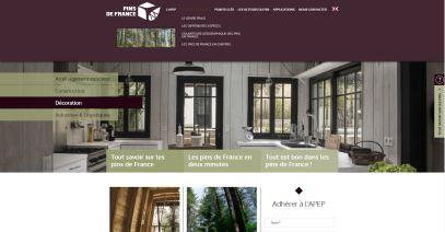 Site internet de la campagne pins de France