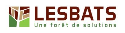 Nouveau logo LESBATS pour accompagner la nouvelle activité bois abouté
